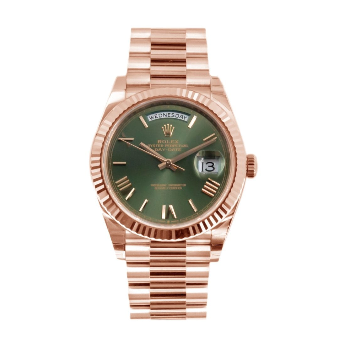 Rolex Day-Date 40 Olive Green 60th Anniversary 228235