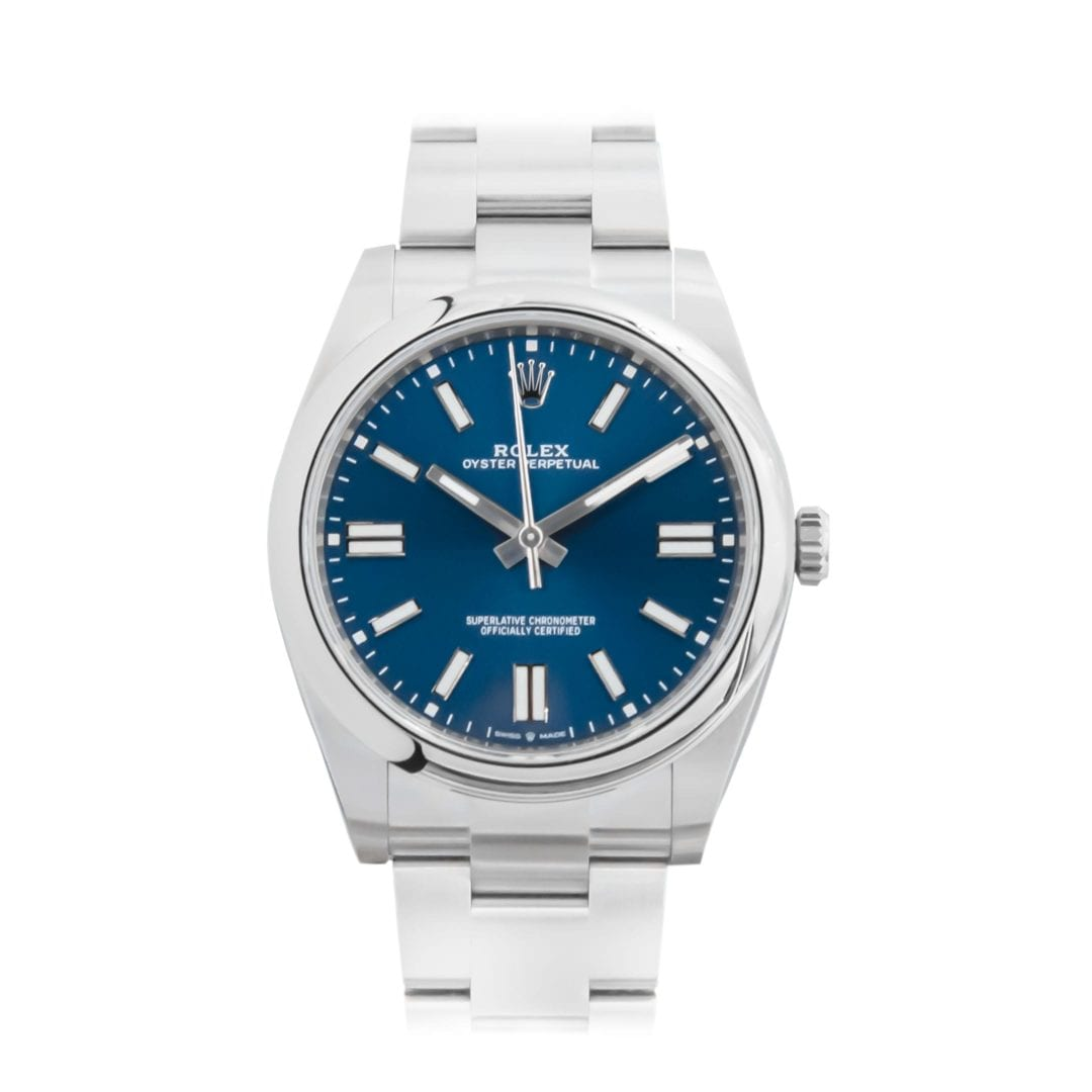 Rolex Oyster Perpetual Blue 124300