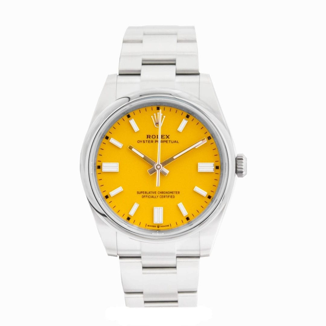 Wtc Rolex Oyster Perpetual Yellow